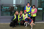 Catherine Mullen, Marion Carpenter, Ann Hughes, Pamela Duffy, Catherine Hughes, Lily and Angel at the Operation Transformation National Walk...Photo NEWSFILE/Jenny Matthews..(Photo credit should read Jenny Matthews/NEWSFILE)