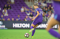 Orlando, FL - Saturday August 12, 2017: Alanna Kennedy during a regular season National Women's Soccer League (NWSL) match between the Orlando Pride and Sky Blue FC at Orlando City Stadium.