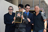 Gary Oldman, Criss Angel, Lance Burton &amp; Randy Couture at the Hollywood Walk of Fame Star Ceremony honoring illusionist Criss Angel. Hollywood Boulevard, Los Angeles, USA 20 July 2017<br /> Picture: Paul Smith/Featureflash/SilverHub 0208 004 5359 sales@silverhubmedia.com