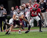ATHENS, GA - NOVEMBER 23: Connor Choate #40 of the Texas A