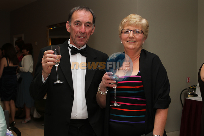Eamonn and Iris O'Rourke at the Network Ireland National Conference and Businessswomen of the Year Awards 2012 - Friday 28th September in Drogheda, Co. Louth..Photo NEWSFILE/Jenny Matthews.