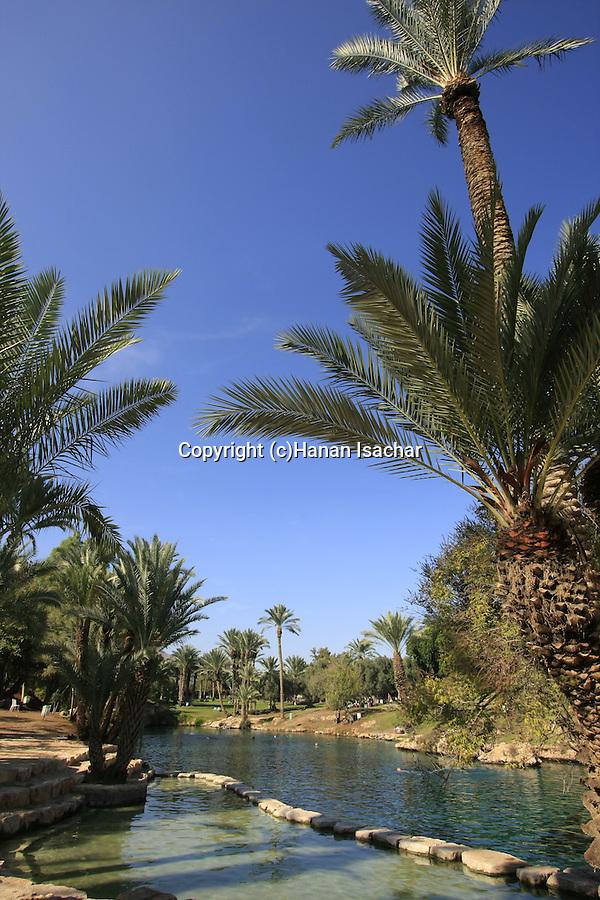 Israel, Beth Shean Valley, the Sachne, Gan Hashlosha National Park