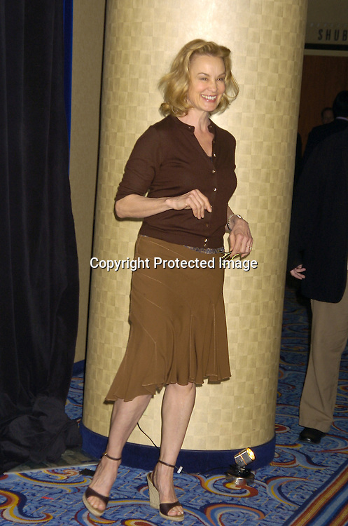 Jessica Lange..at the 71st Annual Drama League Awards Luncheon on ..May 13, 2005 at the Marriott Marquis Hotel. ..Photo by Robin Platzer, Twin Images
