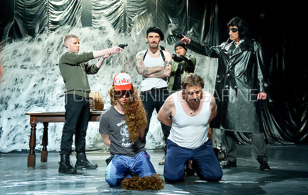 "Theatre company WTThumor playing ""De Luitenant Van Inishmore"" from Martin McDonagh, directed by Geert Defour (Belgium, 25/04/2014)"
