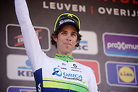 Michael Matthews (AUS/Orica-GreenEDGE) like last year again 2nd on the podium<br /> <br /> 55th Brabantse Pijl 2015