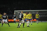 VOETBAL: LEEUWARDEN: Cambuur Stadion, 10-05-2012, SC Cambuur - VVV, Nacompetitie, Eindstand 0-0, Ismo Vostermans (#12), Mark de Vries (#12), ©foto Martin de Jong