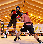 23.08.2011, Stanglwirt, Going, AUT, Vitali Klitschko, Training, im Bild Vitali Klitschko mit sparring Partner im Ring // during a trainingssession at Hotel Stanglwirt in Going, Austria on 23/8/2011. EXPA Pictures © 2010, PhotoCredit: EXPA/ J. Groder