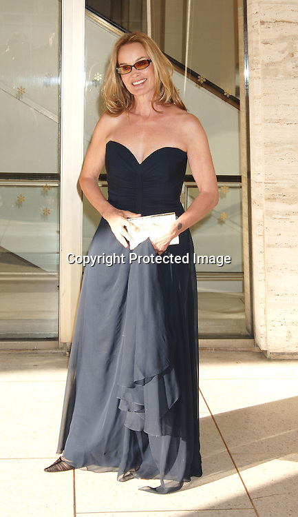 Jessica Lange ..at The Film Society of Lincoln Center honoring Jessica Lange on April 17, 2006 at Avery Fisher Hall...Robin Platzer, Twin Images