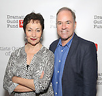 Lynn Ahrens and Stephen Flaherty attends the reception for Dramatists Guild Fund Fellows Presentation 2015-2016 at Playwrights Horizons on September 19, 2016 in New York City.
