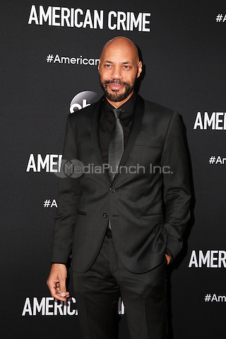 LOS ANGELES, CA - FEBRUARY 28: John Ridley at the American Crime Premiere at the Ace Hotel in Los Angeles, California on February 28, 2015. Credit: David Edwards/DailyCeleb/MediaPunch