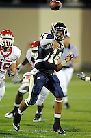 11 September 2010:  FIU quarterback Wayne Younger (14) passes in the third quarter as the Rutgers Scarlet Knights defeated the FIU Golden Panthers, 19-14, at FIU Stadium in Miami, Florida.