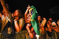 SAO PAULO, SP, 28.03.2015 - LOLLAPALOOZA 2015 - AUTODROMO INTERLAGOS, SP - A banda Sul Africana Kongos, se presentam no palco Axe, do Lollapalooza 2015, no Autodromo de Interlagos, neste Sabado, 28. (Douglas Pingituro / Brazil Photo Press)