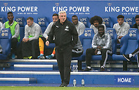 Newcastle United manager Steve Bruce during the Premier League match between Leicester City and Newcastle United at the King Power Stadium, Leicester, England on 29 September 2019. Photo by Andy Rowland.