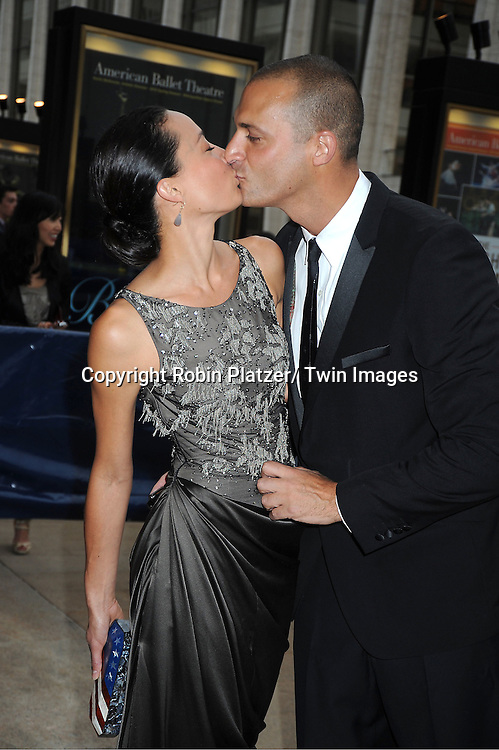Nigel Barker and wife Cristen Barker attends the American Ballet Theatre Spring Gala at The Metropolitan Opera House at Lincoln Center on May 14, 2012.