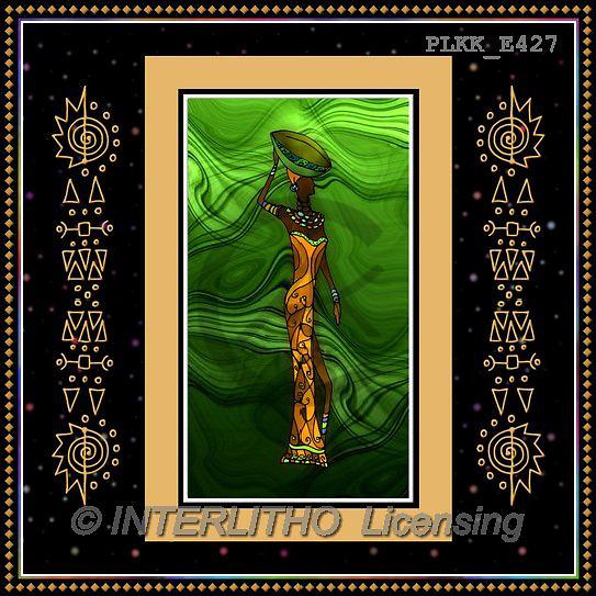 Kris, ETHNIC, paintings+++++,PLKKE427,#ethnic# Africa