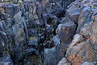 730850328 amazing frozen lava formations along a flow line at fossil falls blm protected lands inyo county california