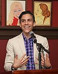 Matthew Lopez during the Robert Whitehead Award Ceremony honoring Tom Kirdahy at Sardi's on 5/22/2019 in New York City.