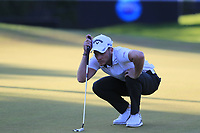Danny Willett (ENG) on the 17th green during Saturday's Round 3 of the 2018 Turkish Airlines Open hosted by Regnum Carya Golf &amp; Spa Resort, Antalya, Turkey. 3rd November 2018.<br /> Picture: Eoin Clarke | Golffile<br /> <br /> <br /> All photos usage must carry mandatory copyright credit (&copy; Golffile | Eoin Clarke)