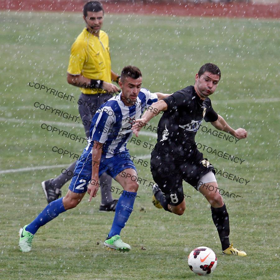 Ivan Todorovic (desno) Jelen Superliga sezona 2013-2014 Ofk Beograd - Cukaricki, Serbia, 24.8.2013. (credit: Pedja Milosavljevic  / thepedja@gmail.com / +381641260959)