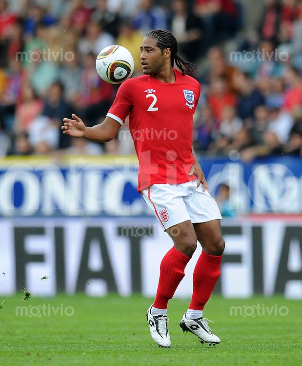 Fussball International:  Testspiel   30.05.2010 Japan - England Glen JOHNSON (England)