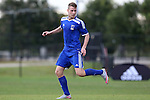 12 January 2016: Fabian Herbers (GER) (Creighton). The adidas 2016 MLS Player Combine was held on the cricket oval at Central Broward Regional Park in Lauderhill, Florida.