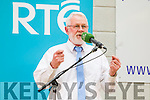 Martin Ferris at the Kerry General Election Count in Killarney.