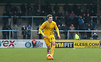 Billy Bodin of Bristol Rovers in action during the Sky Bet League 2 match between Wycombe Wanderers and Bristol Rovers at Adams Park, High Wycombe, England on 27 February 2016. Photo by Claudia Nako.