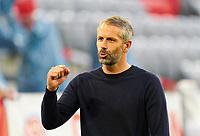 13th June 2020, Allianz Erena, Munich, Germany; Bundesliga football, Bayern Munich versus Borussia Moenchengladbach;  Marco ROSE, Trainer MG celebrates their goal