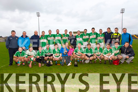 Na Gaeil winners of the St Brendans Board Championship Final against Ardfert at Austin Stacks Park on Sunday