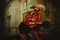 Before Start - by fitting like a glove. D'HORRE Jolien
