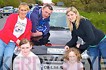 Sandy, John, Lauren, Joanna Corrigan Abbeyfeale and Claire Shorton Knocknagree enjoying themselves at the Rally of the Lakes registering at Killarney Fire station on Friday........   Copyright Kerry's Eye 2008