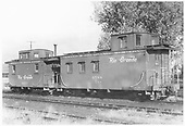 Caboose #0588 &amp; #0577 at unknown location.<br /> D&amp;RGW