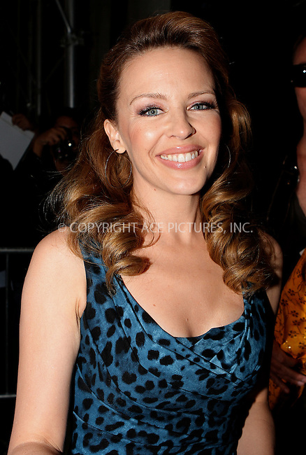 WWW.ACEPIXS.COM......October 11 2012, New York City....Singer Kylie Minogue visited a TV show on October 11 2012 in New York City......By Line: Nancy Rivera/ACE Pictures......ACE Pictures, Inc...tel: 646 769 0430..Email: info@acepixs.com..www.acepixs.com