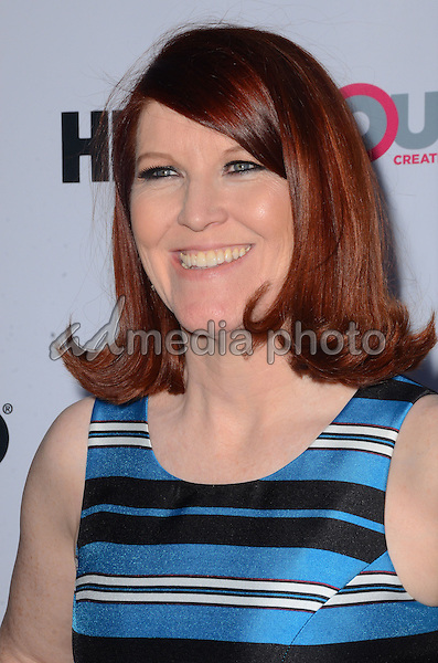 "11 July 2015 - West Hollywood, California - Kate Flannery. Arrivals for the 2015 Outfest Los Angeles LGBT Film Festival screening of ""Tab Hunter Confidential"" held at The DGA Theater. Photo Credit: Birdie Thompson/AdMedia"
