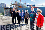 Members of Ard Chúram standing at the on going works at the Ard Chúram New Dementia Day Care Centre in Listowel on Thursday.<br /> Front l to r: Mike Moriarty and Maria O'Connor.<br /> Back l to r: Brendan O'Sullivan, Denise Foran, Helena Carmody and Rose McElligott.