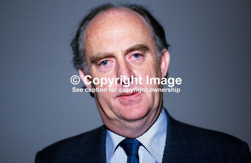 Richard Conroy, Fianna Fail candidate, Dun Laoghaire, Rep of Ireland, businessman, 19860405RC3.<br />
