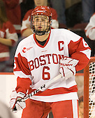 Joe Pereira (BU - 6) - The Boston University Terriers defeated the visiting Providence College Friars 2-1 on Saturday, October 23, 2010, at Agganis Arena in Boston, Massachusetts.