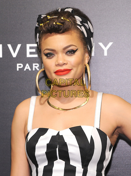NEW YORK, NY - NOVEMBER 05: Andra Day  attends the 2015 'Keep A Child Alive' Black Ball at Hammerstein Ballroom on November 5, 2015 in New York City.<br /> CAP/MPI/STV<br /> &copy;STV/MPI/Capital Pictures