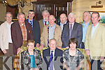 Andy O'Sullivan Kenmare celebrates his retirement from the Department of Social and Family Affairs with his former colleagues in the Killarney Avenue Hotel on Friday night front row l-r: Mary Flynn, Andy, Mary O'Sullivan. Back row: Dan Kavanagh, Paul Crowley, John Considine, John Herlihy, John Courtney, Pat Liddy, Donal Lyne, Joe Bennett and Brian Flynn