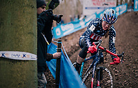 US national champion COMPTON Katie (USA/KFC Racing p/b Trek/Panache)<br /> <br /> Brussels Universities Cyclocross (BEL) 2019<br /> Women's Race<br /> DVV Trofee<br /> &copy;kramon