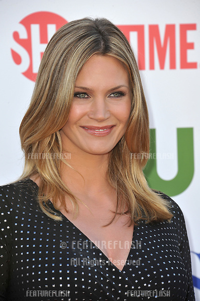 Natasha Henstridge, star of The Secret Circle, at the CBS Summer 2011 TCA Party at The Pagoda, Beverly Hills..August 3, 2011  Los Angeles, CA.Picture: Paul Smith / Featureflash