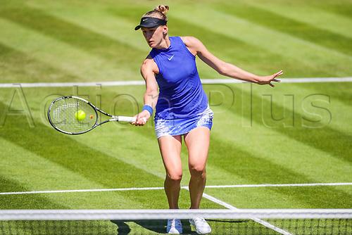 June 18th 2017, Edgbaston Priory Club; Tennis Tournament; Aegon Classic Birmingham; Sunday Qualifiers; Tereza Smitkova beats Ankita Raina in qualification