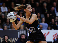 Kayla Cullen in action during the Taini Jamieson Trophy Series netball match between the New Zealand Silver Ferns and England Roses at Claudelands Arena in Hamilton, New Zealand on Wednesday, 13 September 2017. Photo: Dave Lintott / lintottphoto.co.nz