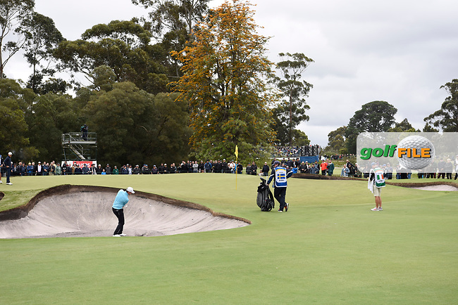 Alexander Bjork (SWE) during the 3rd round of the World Cup of Golf, The Metropolitan Golf Club, The Metropolitan Golf Club, Victoria, Australia. 24/11/2018<br /> Picture: Golffile | Anthony Powter<br /> <br /> <br /> All photo usage must carry mandatory copyright credit (&copy; Golffile | Anthony Powter)