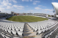 A general view of Lords Cricket Ground during Middlesex CCC vs Lancashire CCC, Specsavers County Championship Division 2 Cricket at Lord's Cricket Ground on 11th April 2019