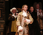 Sam Crane during the Broadway Opening Night performance Curtain Call Bows for 'Farinelli and the King' at The Belasco Theatre on December 17, 2017 in New York City.