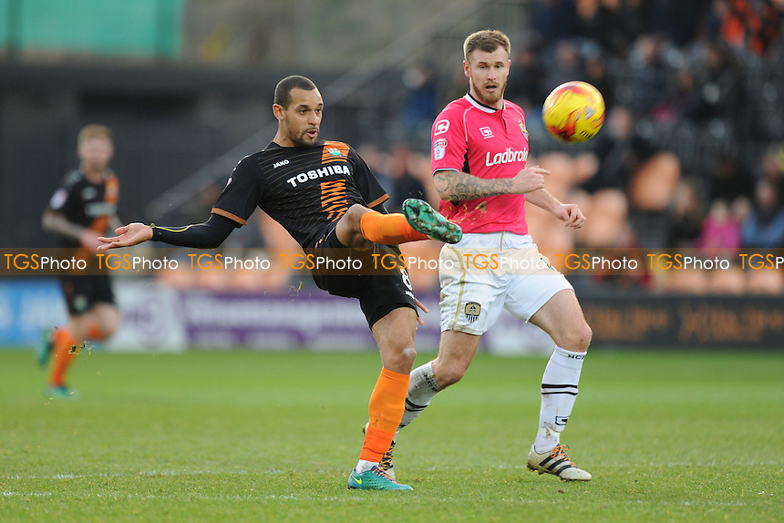 Barnet's Curtis Weston in action during Barnet vs Notts County, Sky Bet EFL League 2 Football at the Hive Stadium on 26th November 2016