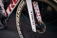 Polka Dot bike for Tom Skujins (LAT/Trek Segafredo)<br /> <br /> Stage 7: Fougères > Chartres (231km)<br /> <br /> 105th Tour de France 2018<br /> ©kramon