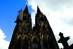 Work on the Cologne Cathedral in Cologne, Germany was started in 1248.