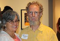 NWA Democrat-Gazette/CARIN SCHOPPMEYER Carol Corning and Ed Pennbaker attend the Club 101 fundraiser.